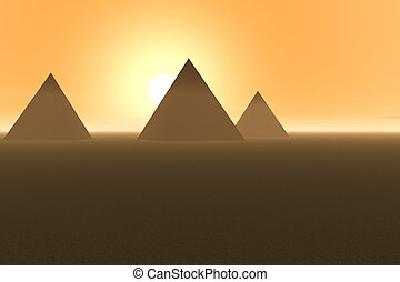 pyramides - egypt pyramides