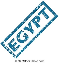 Egypt rubber stamp