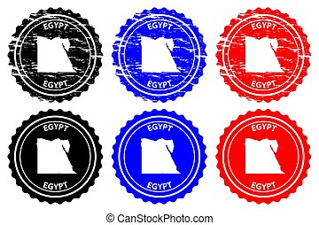 Egypt - rubber stamp