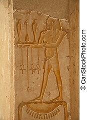 Egypt Series (Hatshepsut Hieroglyph) - Various scenes of...