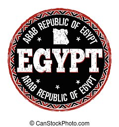 Egypt sign or stamp