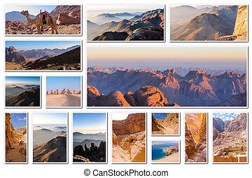 Egypt Sinai collage