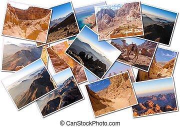 Egypt Sinai Peninsula collage