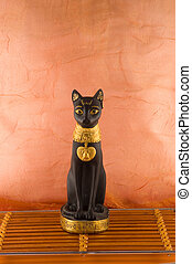 Egypt statue of cat