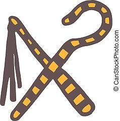 Egypt symbols vector Ankh Hieroglyph