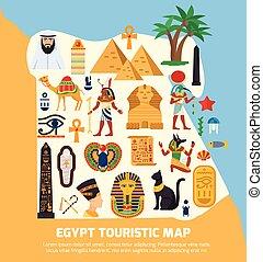 Egypt Touristic Map