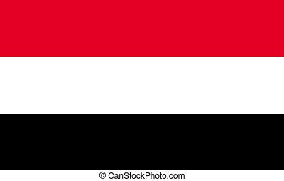 Egypt; Yemen - Egypt or Yemen flags