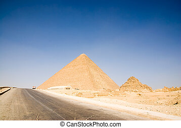 egypte, cairo, piramide, giza