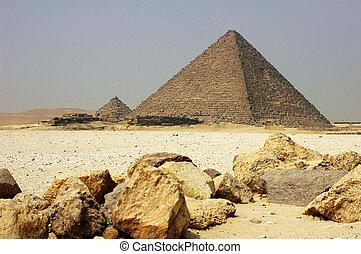 egypte, cairo, piramide