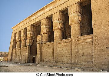egypte, dendera, temple