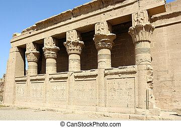 egypte, dendera, temple, mammisi