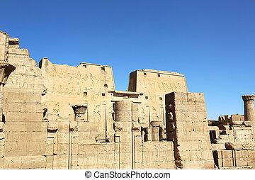 egypte, edfu, temple