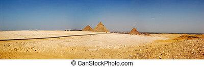 egypte, giza, piramide, cairo