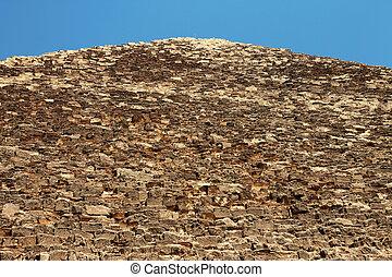 egypte, giza, woestijn, piramides