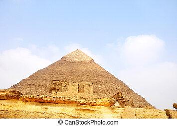 egypte, piramide