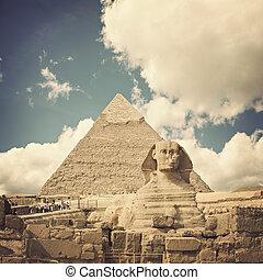 egypte, sphinx