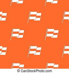 Egyptian flag pattern seamless