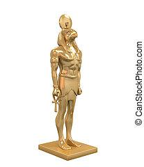 Egyptian God Horus Statue