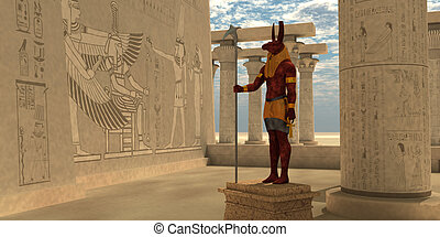 Egyptian God Seth - Seth was an Egyptian god of chaos,...