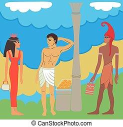 egyptian-greek, 古代, 市場
