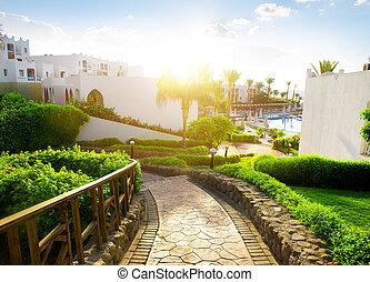 Egyptian hotel