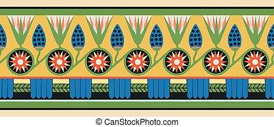 Egyptian national ornaments.