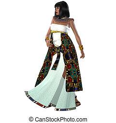 Egyptian Nefertiti