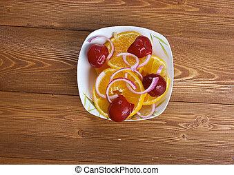 Egyptian orange salad