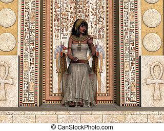 Egyptian Princess Throne
