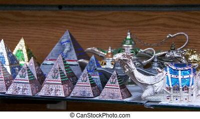 Egyptian Pyramids in the Gift Shop. - EGYPT, SOUTH SINAI,...