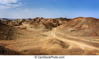 Egyptian rock desert