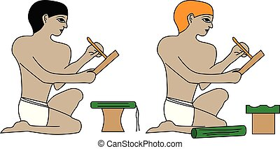 Ancient Egypt scribes