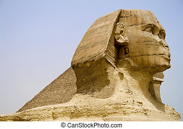 Egyptian Sphinx and Pyramid - The Sphinx and The Great...