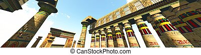 Egyptian temple