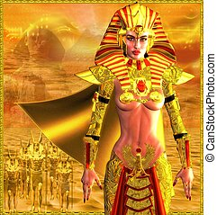 Egyptian Warrior Queen - An ancient Egyptian woman who named...