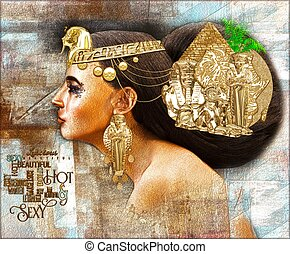 Egyptian woman