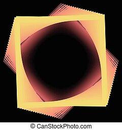 egyszerű, elvont, -, ábra, vektor, háttér, egyenes