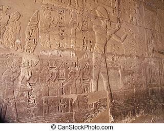 egytpian, hieroglyphics, 古代
