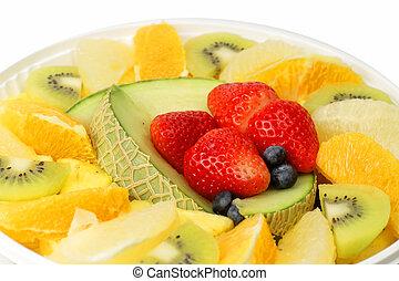 egzotikus gyümölcs, kísértés