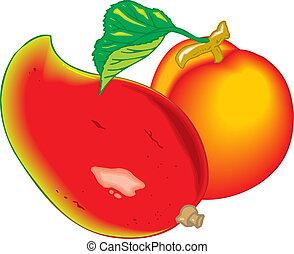 egzotikus gyümölcs