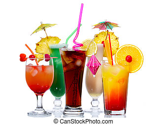 egzotyczny, cocktaili
