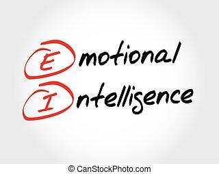 EI - Emotional Intelligence, acronym