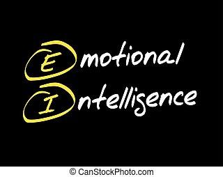 EI - Emotional Intelligence