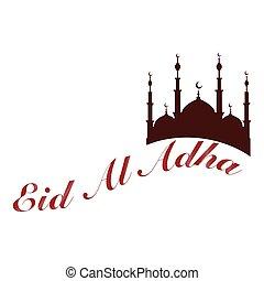 Eid al adha - abstract eid al adha background with some...