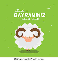 Eid al-Adha, Kurban Bayrami muslim festival of sacrifice. ...