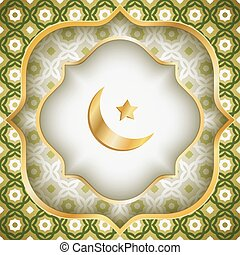 Eid al fitr - Vector greeting card for Ramadan or Eid Al ...