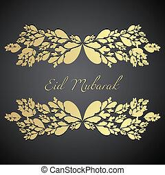 eid festival deign background illustration