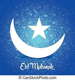 Eid Mubarak Abstract