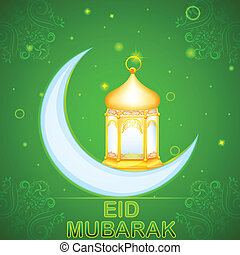 Eid Mubarak (Happy Eid) card
