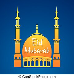 Eid Mubarak poster design - Eid Mubarak Islamic festival...